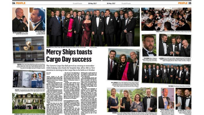 Geneva Cargo Day Ball event article Tradewinds