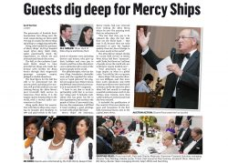 Mercy Ships UK Africa Ball