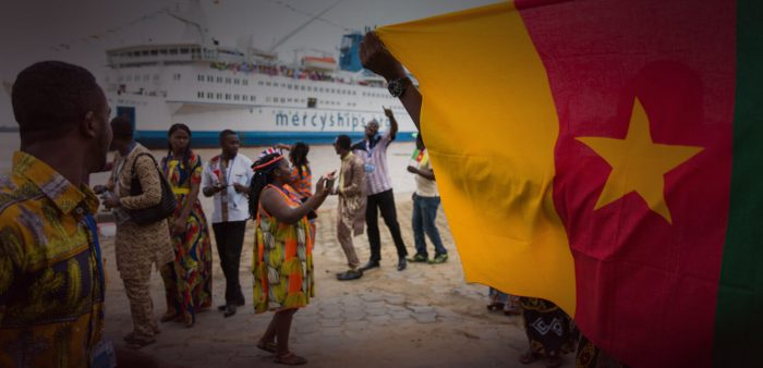 Mercy Ships in Cameroon