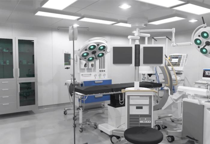 Global Mercy hospital 3D