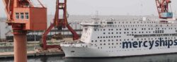 Global Mercy in Xingang Shipyard