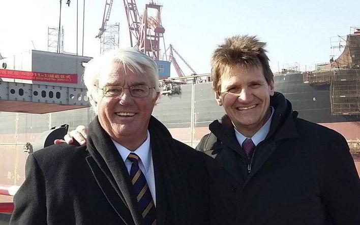 Gilbert Walter and Don Stephens